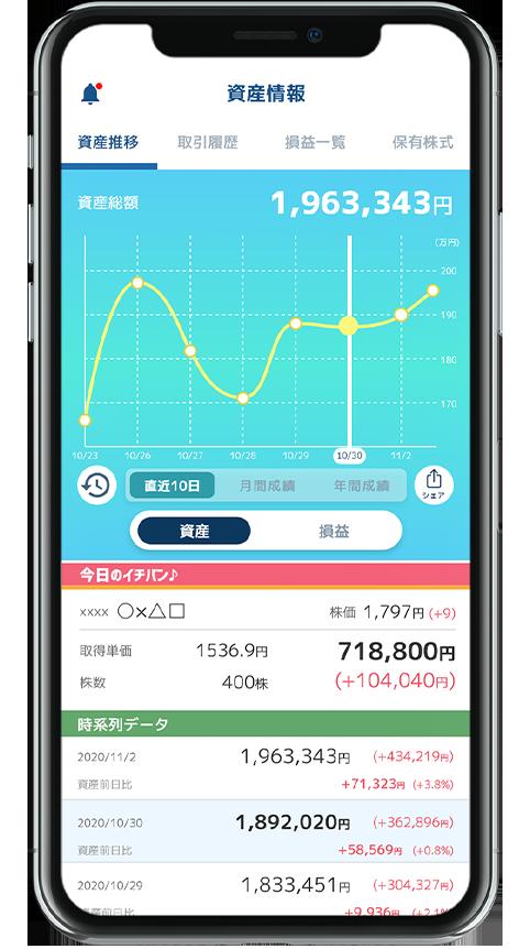 【株view】資産管理アプリの株viewのレビュー!myTradeの後継アプリ!2